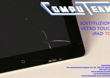 Sostituzione Vetro touch Ipad